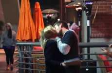 Festive Kissing Pranks