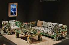 Upcycled Electronic Furniture