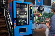 Cyclist-Targeting Vending Machines