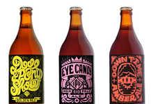 Groovy Booze Branding