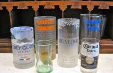 Crafty Alcohol Bottle Glasses