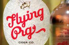 Playful Social Cider Branding
