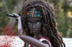 Television-Inspired Warrior Dolls