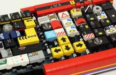 Computerized LEGO Keyboards