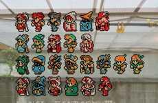 Netted Gamer Mosaics