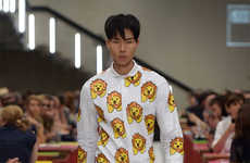 Boyishly Printed Menswear