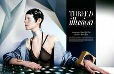 Futuristic Glam Editorials
