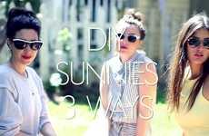 15 Stylish DIY Sunglasses