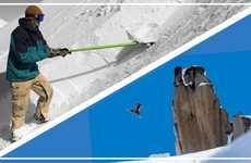 Functional Snowboarder Shovels