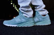 Minty Monochrome Sneakers