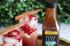 Sparkling Seasonal Fruit Teas