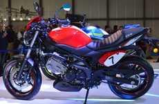 Sleek Lightweight Motorbikes