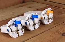 Flattened British Plugs