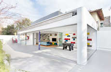 Playful Party Homes