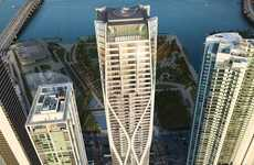 Glazed Luxury Skyscrapers