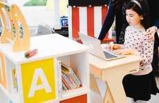 Child-Friendly Standing Desks