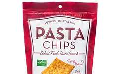 Baked Pasta Chips