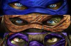 Couture Superhero Masks