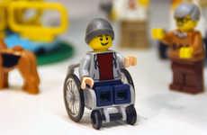 Wheelchair LEGO Toys
