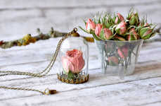 Flower-Preserving Necklaces