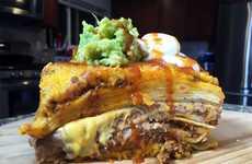 Gluttonous Taco Lasagnas