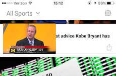 Video-Pushing Sports Apps