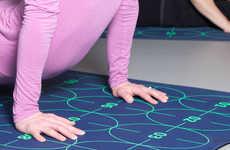 Instructional Yoga Mats