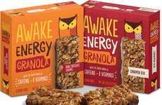 Caffeinated Granola Bars