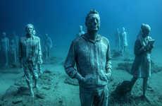 Eerie Underwater Sculptures