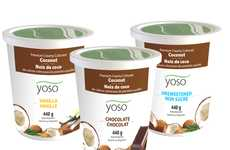 Coconut-Based Vegan Yogurts
