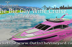 Luxurious LGBT Wine Cruises