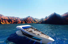 Aerodynamic Travel Boats
