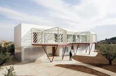 Geometric Balconies