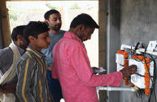 Water-Filtering Toilets