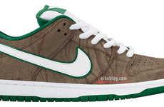 Wooden Grain Sneakers