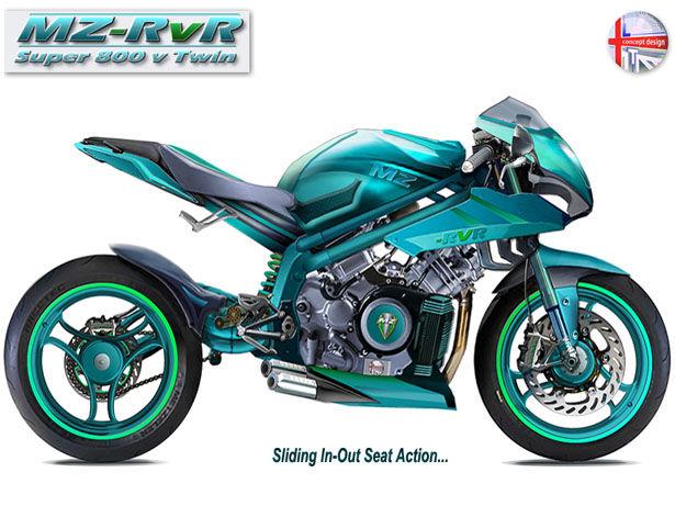 Retractable Seat Motorcycles