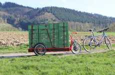 Powered Electric Bike Trailers