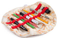 Folding Tortilla Pencil Cases