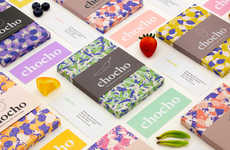 Textile-Inspired Candy Branding