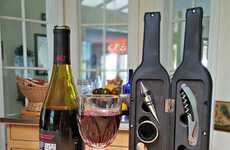 Wine Bottle Tool Boxes