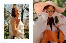 Conceptual Flower Child Fashion