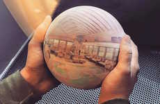 Sphere-Shaped Photography