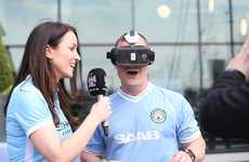 VR Soccer Broadcasts