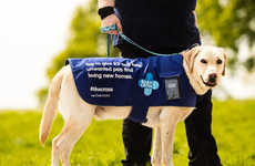 Donation-Collecting Dogs