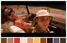 Movie Scene Color Palettes