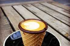 Edible Coffee Cones