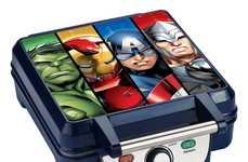 Superhero Waffle Makers