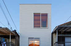 Space-Saving Narrow Homes