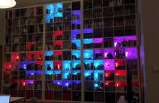 Digital Puzzle Bookshelves