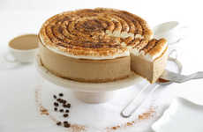 Caffeinated Cappuccino Cheesecakes